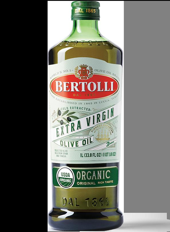 Bertolli's Organic Original Extra Virgin Olive Oil Bottle