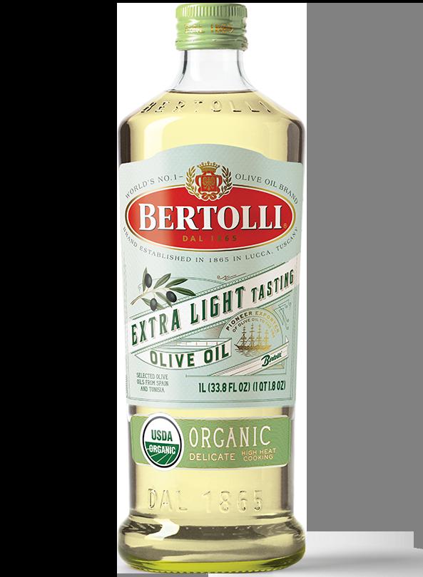 Bertolli Organic Delicate Extra Olive Oil Botlle