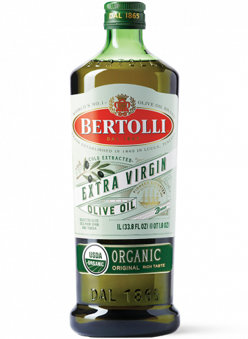 Bertolli's Organic Original Extra Virgin Olive Oil Bottle